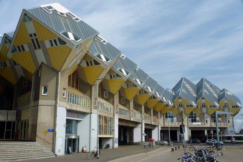 Nhà dạng khối Cubic - Hà Lan