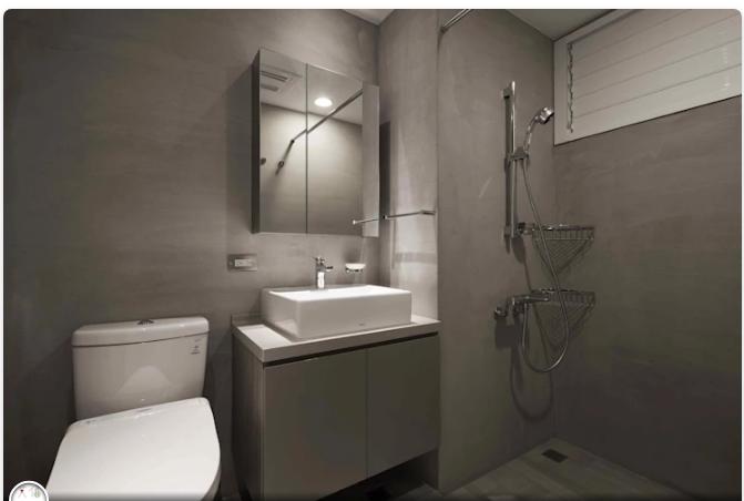 Kiến trúc nhà tắm tiết kiệm không gian