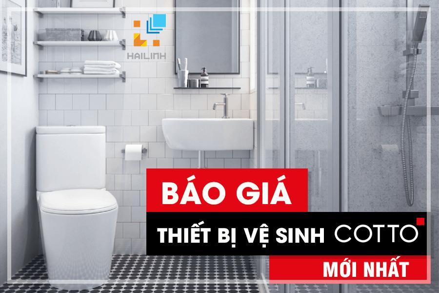 Bao Gia Thiet Bi Ve Sinh Cotto