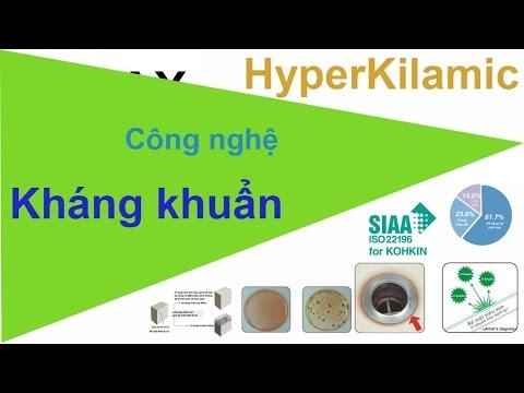 công nghệ kháng khuẩn inax