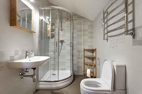 nhà vệ sinh nhỏ